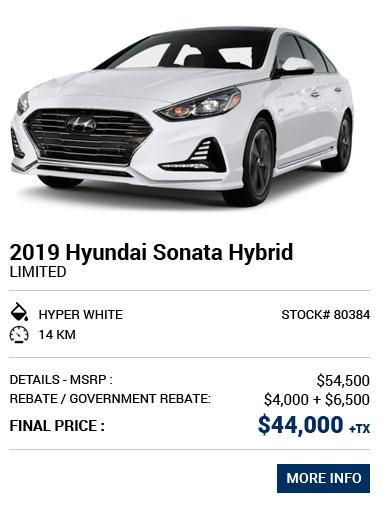 Sonata Hybrid 2019